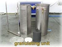 granuliertank-einheit
